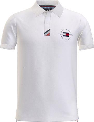 Tommy Hilfiger Plus Polo Shirt Placket White