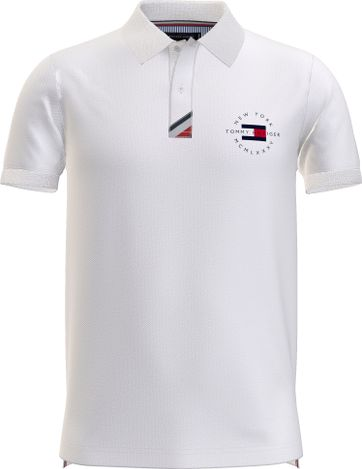 Tommy Hilfiger Plus Poloshirt Placket Weiß