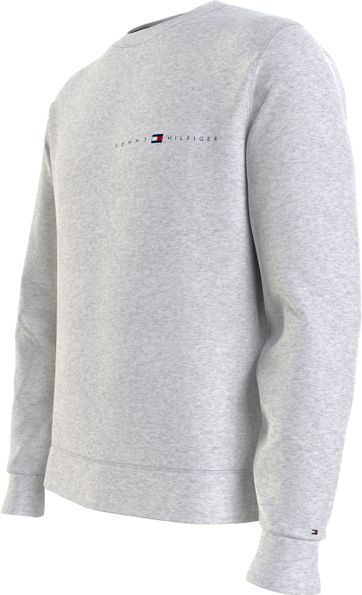 Tommy Hilfiger Plus Pull Essential Grau