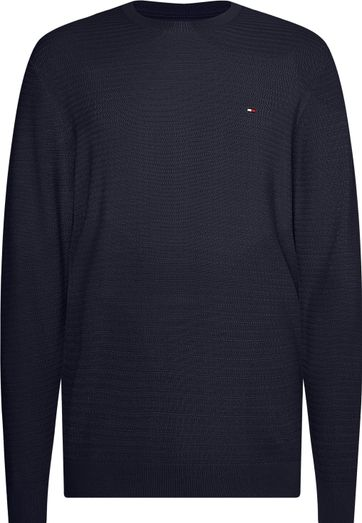 Tommy Hilfiger Plus Pullover Donkerblauw