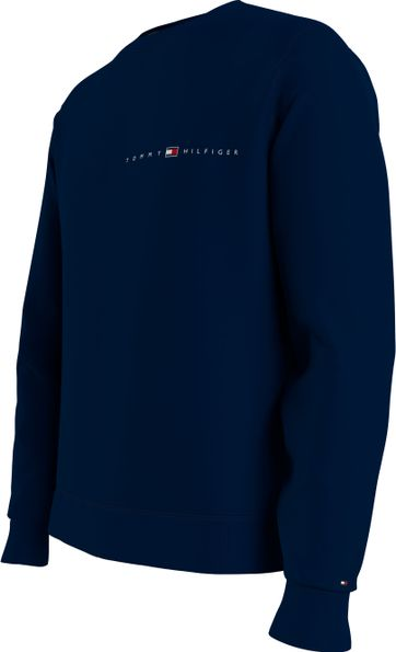 Tommy Hilfiger Plus Sweater Essential Navy