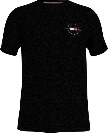 Tommy Hilfiger Plus T-Shirt Logo Schwarz