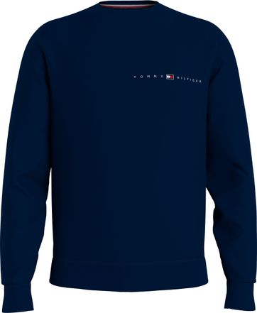 Tommy Hilfiger Plus Trui Essential Donkerblauw