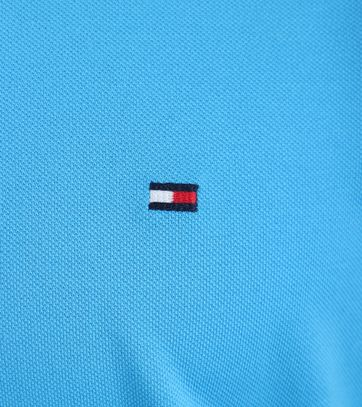Detail Tommy Hilfiger Polo Blauw