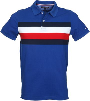 Tommy Hilfiger Polo Blauw Strepen