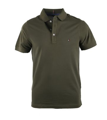 Tommy Hilfiger Polo Donkergroen