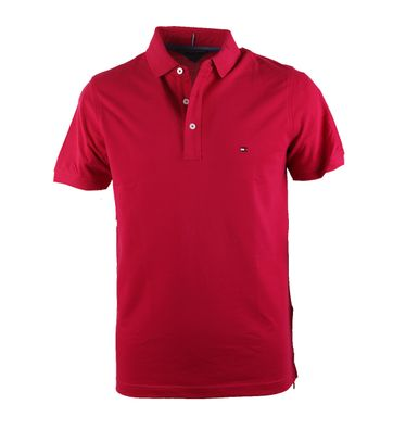 Detail Tommy Hilfiger Polo Fuchsia
