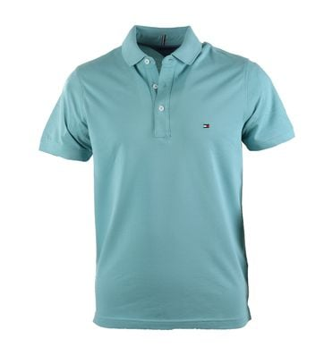 Detail Tommy Hilfiger Polo Groen