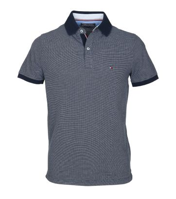 Detail Tommy Hilfiger Polo Jaquard Navy