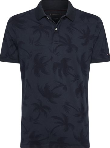 Tommy Hilfiger Polo Navy Print