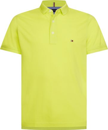 Tommy Hilfiger Polo Neon Geel