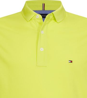 Tommy Hilfiger Polo Neon Geel MW0MW10764 LRE online
