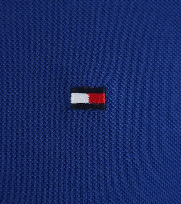 Detail Tommy Hilfiger Polo Royal Blue