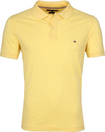 Tommy Hilfiger Polo Shirt Delicate Yellow