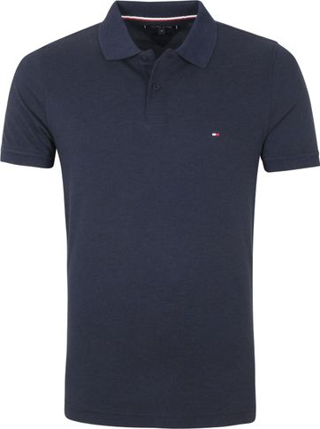 Tommy Hilfiger Polo Shirt Heather Navy