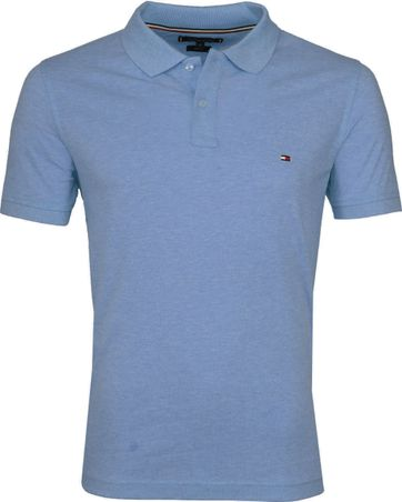 Tommy Hilfiger Polo Shirt Indigo Heather