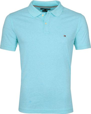 Tommy Hilfiger Polo Shirt Miami Aqua