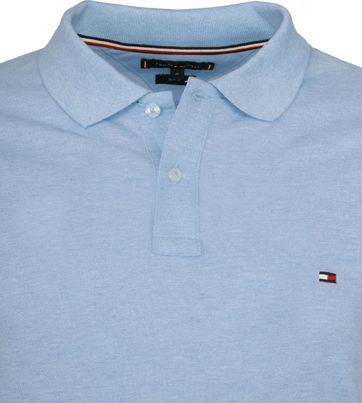 Tommy Hilfiger Polo Shirt Sweat Blau