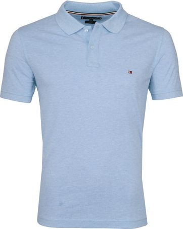 Tommy Hilfiger Polo Sweat Blauw