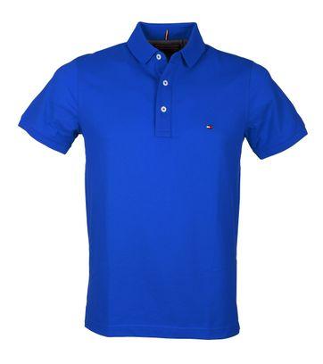 Tommy Hilfiger Polo Uni Blauw