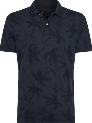 Tommy Hilfiger Poloshirt Navy Print