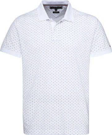 Tommy Hilfiger Poloshirt RF Print Weiß