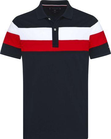 Tommy Hilfiger Poloshirt RF Stripe Navy