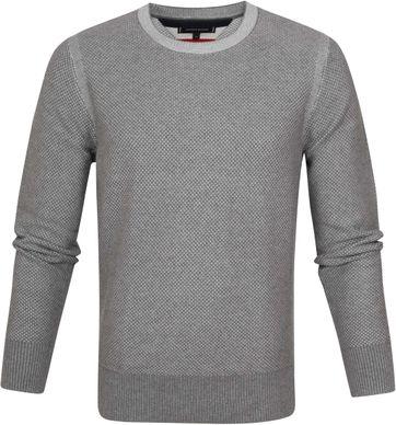 Tommy Hilfiger Pullover Argyle Grey