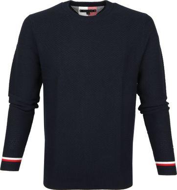Tommy Hilfiger Pullover Dunkelblau O-Neck