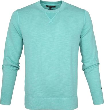Tommy Hilfiger Pullover Dyed Mint