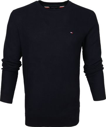 Tommy Hilfiger Pullover Honeycomb Navy