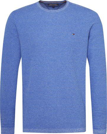 Tommy Hilfiger Pullover Melange Blau