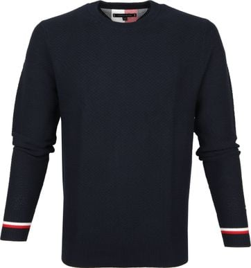 Tommy Hilfiger Pullover Navy R-Neck