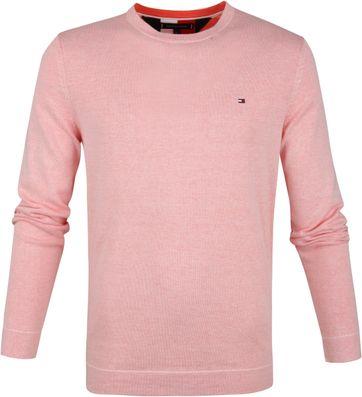 Tommy Hilfiger Pullover O-Hals Oranje