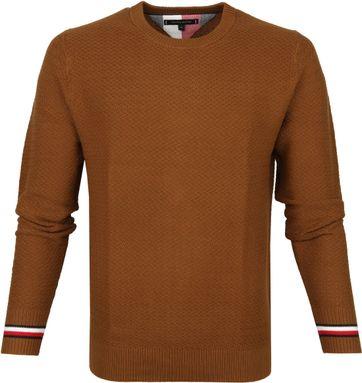 Tommy Hilfiger Pullover O-Neck Cognac