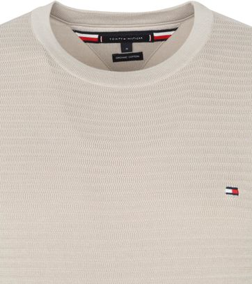 Tommy Hilfiger Pullover Organic Cotton Beige