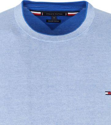 Tommy Hilfiger Pullover Organic Cotton Light Blue
