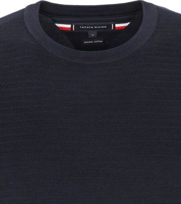 Tommy Hilfiger Pullover Organic Cotton Navy