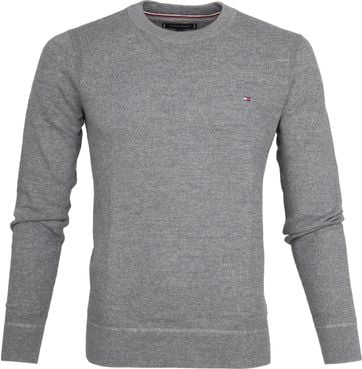 Tommy Hilfiger Pullover Struct Grey
