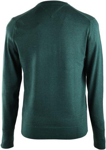 Detail Tommy Hilfiger Pullover V-Hals Groen