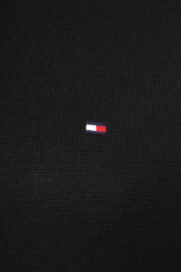Tommy Hilfiger Pullover V-Neck Black