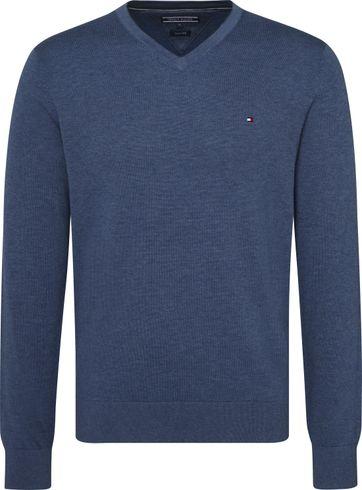 Tommy Hilfiger Pullover V-Neck Indigo Blue