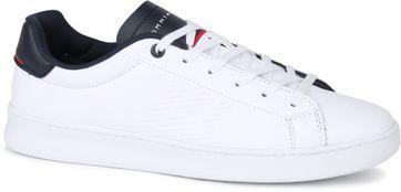 Tommy Hilfiger Retro Tennis Sneaker Weis