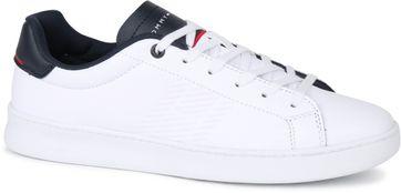 Tommy Hilfiger Retro Tennis Sneaker Weiß