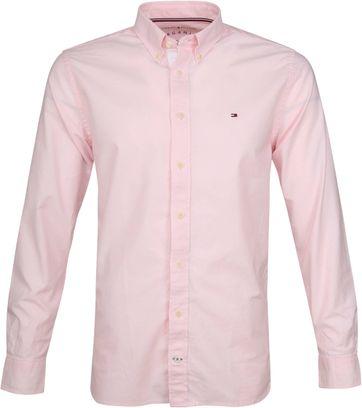 Tommy Hilfiger Roze Oxford Overhemd