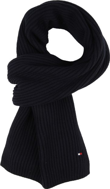 Tommy Hilfiger Scarf Dark Blue