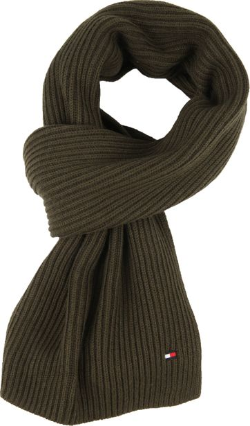 Tommy Hilfiger Scarf Dark Green