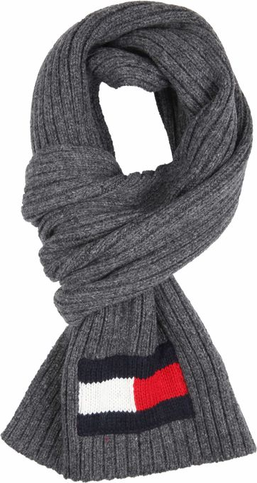 Tommy Hilfiger Scarf Dark Grey