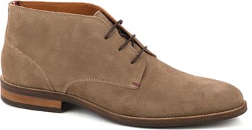 Tommy Hilfiger Schuh Suede Taupe