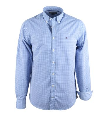 Tommy Hilfiger Shirt Blue Check